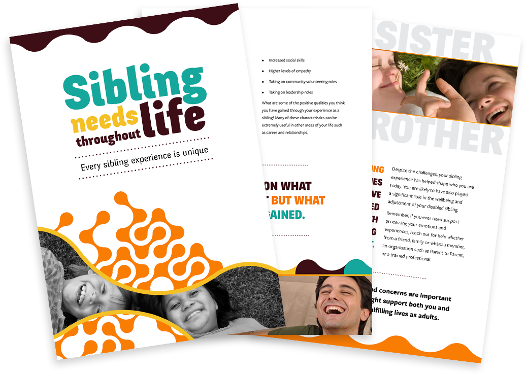 Sibling Needs Throughout Life - adult resource